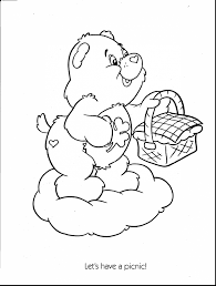 extraordinary care bear coloring pages with coloring pages care