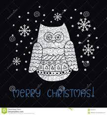 owl christmas owl christmas card template consciousbeingwellness
