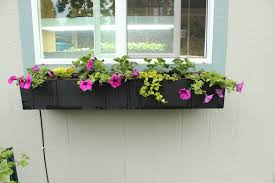 how to build a window flower box step by step guide to planting a window box