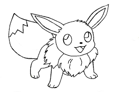 coloring pages saved eevee coloring pages 6 simple pokemon eevee