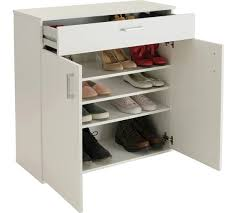 White Shoe Storage Cabinet Buy Home Venetia Shoe Storage Cabinet White At Argos Co Uk