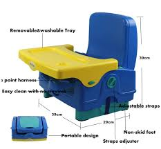 Portable Baby High Chair Convertible High Chair That Attaches To Table Chair Design And Ideas
