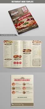 takeout menu template 27 restaurant menu templates with creative designs