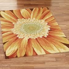 rugs sunflower rug home interior decor