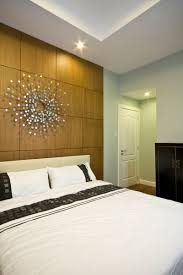 Vacation Home Decor by Apartments Minimalist Bedroom Design With Wooden Wall Using Art