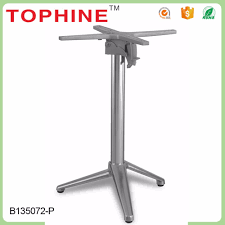Metal Folding Table Legs Home Design Metal Table Legs With Casters Folding Inside The