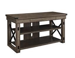 Furniture Tv Unit Amazon Com Ameriwood Home Wildwood Wood Veneer Tv Stand For Tvs