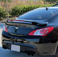 hyundai genesis 2 door coupe hyundai genesis coupe 2 door coupe factory style spoiler 2010 2016
