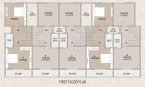 Row House Floor Plans Vardhan City Floor Plans Project 3d Views In Karad