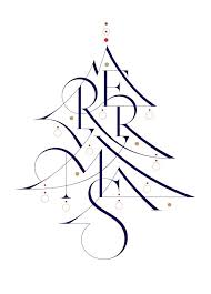 25 best merry christmas calligraphy ideas on pinterest merry