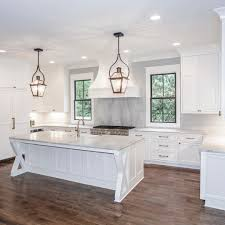 Beach House Kitchens Pinterest by Our Latest White Kitchen Chandelierdevelopment Whitekitchen