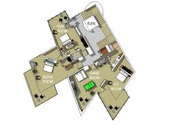 Game Room Floor Plans Large Luxury Villa Costa Rica Villa Punto De Vista