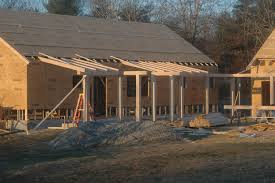 open truss porch roof