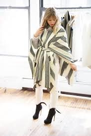 diy how to make fall u0027s must have blanket coat layering