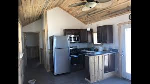 Derksen Portable Finished Cabins At Enterprise Center Youtube Tiny Portable Cedar Cabins 12 X 33 One Bedroom Cabin Youtube