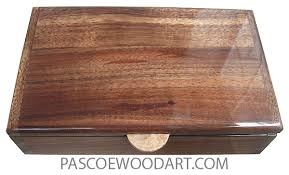 handcrafted wood handcrafted wood box medium valet box hawaiian koa