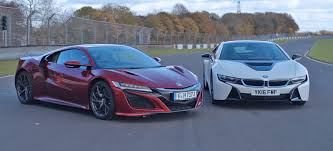 future bmw i8 this bmw i8 vs acura nsx track showdown proves the future may not