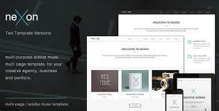 free muse template nulled nexon u2013 multi purpose creative muse template download free