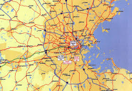 Boston On Map by Directions Boston Light And Sound