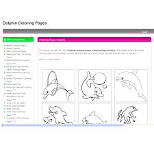 dolphin coloring sheets 5 free resources for creative home