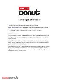 job offer letter template job offer letter template for word