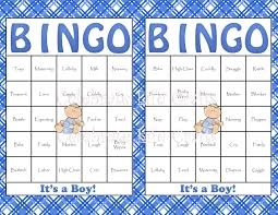 8 best images of baby bingo template printable printable baby