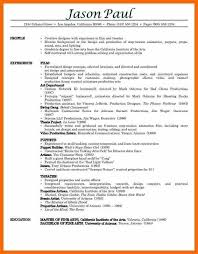 Free Professional Resume Free Professional Resume Examples Resume Builder Download