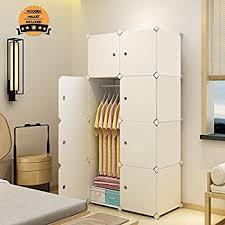 amazon com tespo portable clothes closet wardrobe freestanding