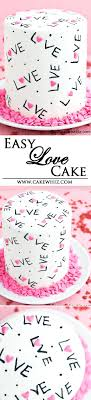 black edible marker this easy and pretty cake is decorated with just heart