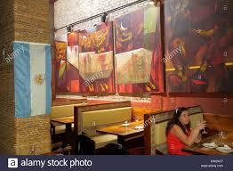 mendoza argentina paseo sarmiento pedestrian mall dining