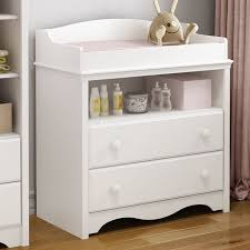 Changing Table Shelf South Shore Heavenly 2 Drawer Changing Dresser Reviews Wayfair