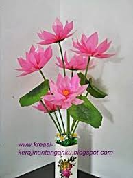 cara membuat bunga dari kertas pita jepang cara membuat bunga dari sedotan plastik bekas