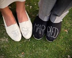 Wedding Shoes Toms Love Tom U0027s Couples Toms Design Your Own 172 00 Via Etsy A