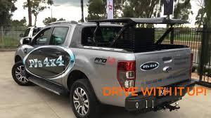 Ford Ranger Truck Cover - ford ranger wildtrak topup ute lid pj u0027s 4x4 youtube