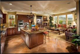 open floor plan kitchen dining room kitchen design open plan