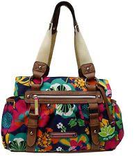 Lilly Bloom Lily Bloom Triple Section Landon Multi Purpose Satchel Bag Folky