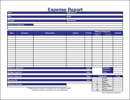 Company Expense Report Template by 10 Expense Report Templates Word Excel Pdf Formats