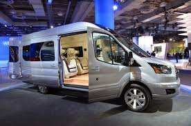 ford transit 2015 ford transit skyliner concept is a private jet on wheels