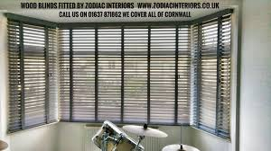 wood blinds fitted by us last week we cover all of cornwall