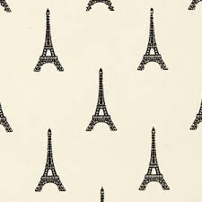 black eiffel tower gift wrap from midori inc gift ideas