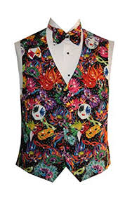 mardi gras tuxedo mardi gras masks tuxedo vest with matching bow tie at men s