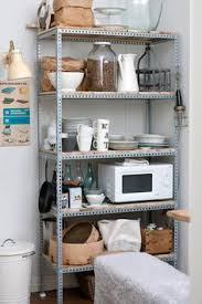 Open Metal Shelving Kitchen by Organizing Open Shelves Open Shelves Organizing And Shelves