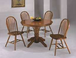 pedestal kitchen table and chairs ella honey oak round pedestal dining table set round kitchen table
