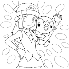 download pokemon dawn coloring pages
