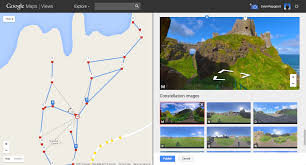 Create A Route On Google Maps by Google Lat Long Create Your Own Street View