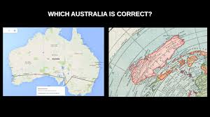 United States Map With Latitude And Longitude by Australia Flat Earth Youtube