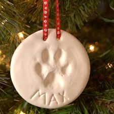 dog lover gifts pawprint ornament kit for pet lovers at