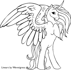 My Little Pony Unicorn Coloring Pages Getcoloringpages Com Unicorn Coloring