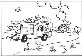 coloring pages fireman sam coloring pages pictures sprout
