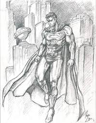 superman sketch phil cho deviantart